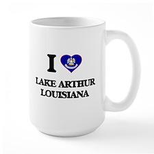 I love Lake Arthur Louisiana Mugs