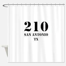 210 San Antonio TX Shower Curtain