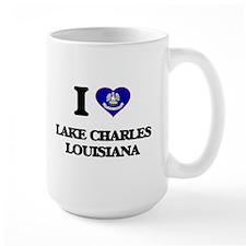I love Lake Charles Louisiana Mugs