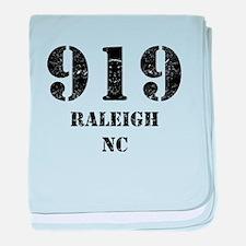 919 Raleigh NC baby blanket