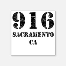 916 Sacramento CA Sticker