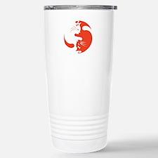 Cat Yin Yang Travel Mug