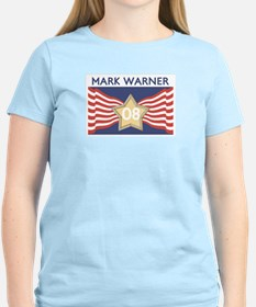 Elect MARK WARNER 08 T-Shirt