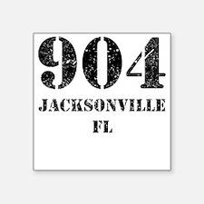 904 Jacksonville FL Sticker
