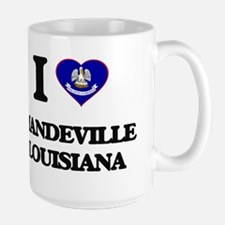 I love Mandeville Louisiana Mugs