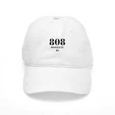 808 Honolulu HI Baseball Baseball Cap