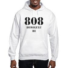 808 Honolulu HI Hoodie