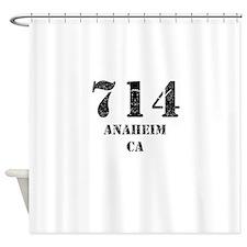 714 Anaheim CA Shower Curtain