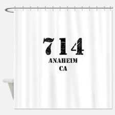 714 Anaheim CA Shower Curtain