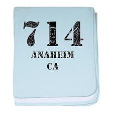 714 Anaheim CA baby blanket