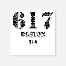 617 Boston MA Sticker