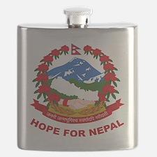 Nepal Relief Effort Flask