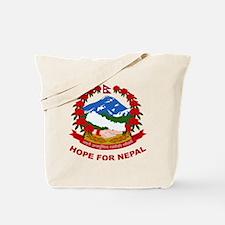 Nepal Relief Effort Tote Bag