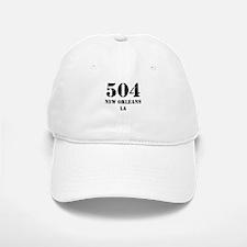 504 New Orleans LA Baseball Baseball Baseball Cap