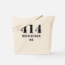 414 Milwaukee WI Tote Bag