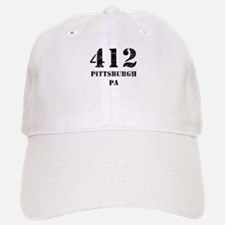 412 Pittsburgh PA Baseball Baseball Baseball Cap