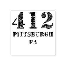 412 Pittsburgh PA Sticker