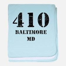 410 Baltimore MD baby blanket