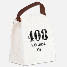 408 San Jose CA Canvas Lunch Bag
