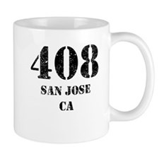 408 San Jose CA Mugs