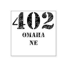 402 Omaha NE Sticker