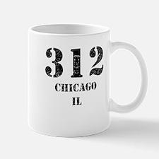 312 Chicago IL Mugs