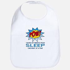 Saving Parents from Sleep Bib