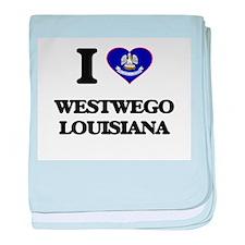 I love Westwego Louisiana baby blanket
