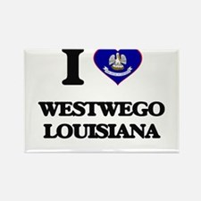 I love Westwego Louisiana Magnets