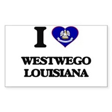 I love Westwego Louisiana Decal