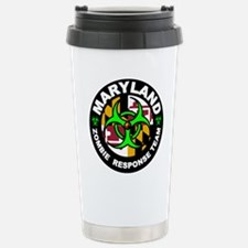 Maryland Zombie Respons Stainless Steel Travel Mug