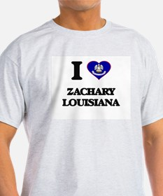 I love Zachary Louisiana T-Shirt