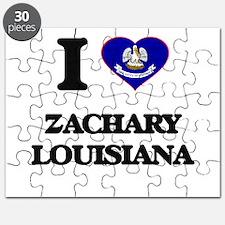I love Zachary Louisiana Puzzle