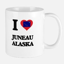 I love Juneau Alaska Mugs