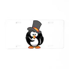 Penguin Wants You Aluminum License Plate