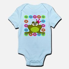 Frog Princess Flowers Body Suit