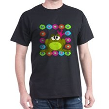 Frog Princess Flowers T-Shirt