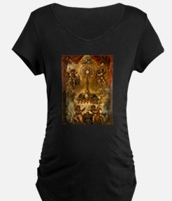 Allegory of the Eucharist Maternity T-Shirt