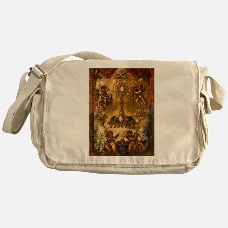 Allegory of the Eucharist Messenger Bag