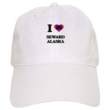 I love Seward Alaska Baseball Baseball Cap