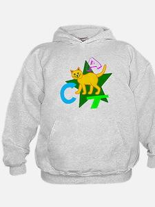 (kids) C-A-T Hoodie