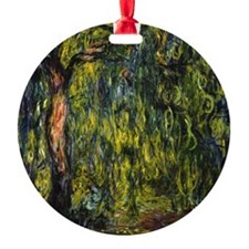 Monet Weeping Willow Ornament