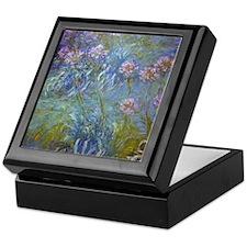 Monet Agapanthus Keepsake Box