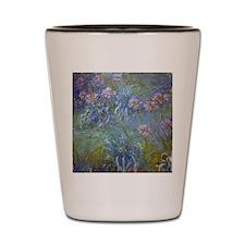 Monet Agapanthus Shot Glass