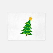 CHRISTMAS TREE MINI 5'x7'Area Rug