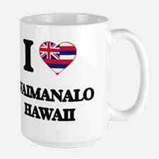 I love Waimanalo Hawaii Mugs