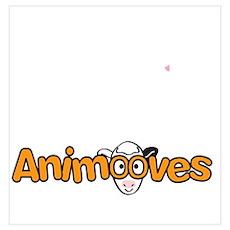 Binky for Animooves white Poster
