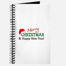 MERRY CHRISTMAS AND HAPPY NEW YEAR Journal