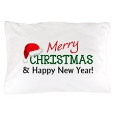MERRY CHRISTMAS AND HAPPY NEW YEAR Pillow Case