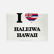 I love Haleiwa Hawaii Magnets